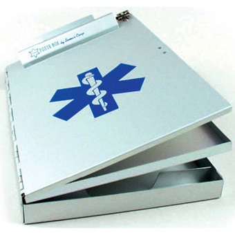 Posse Box Clipboard with Star of Life, 9in x 14in x 1.5in