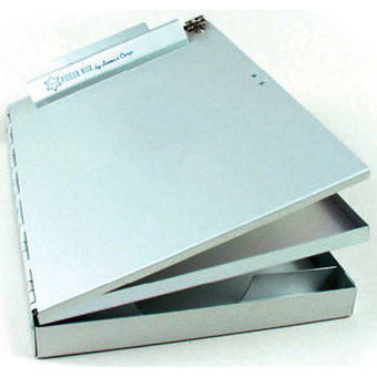 Posse Box Clipboard, 9in x 14in x 1.5in, Side Opening