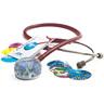 Adscope™ Vistascope™ 655 Acrylic Clinician Stethoscope, 31.5in L, Burgundy