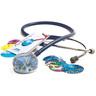 Adscope™ Vistascope™ 655 Acrylic Clinician Stethoscope, 31.5in L, Navy Blue