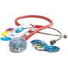 Adscope™ Vistascope™ 655 Acrylic Clinician Stethoscope, 31.5in L, Red