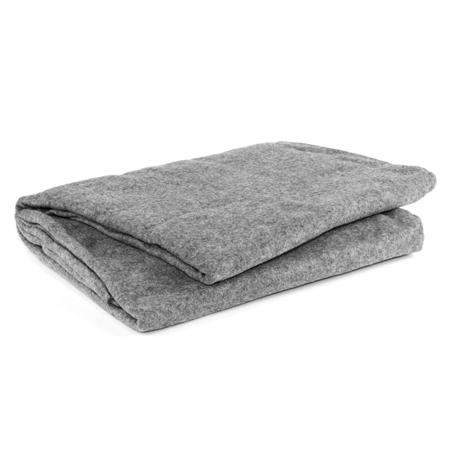 *Limited Quantity* Curaplex® Blanket, Fleece, 60in x 90in, Gray