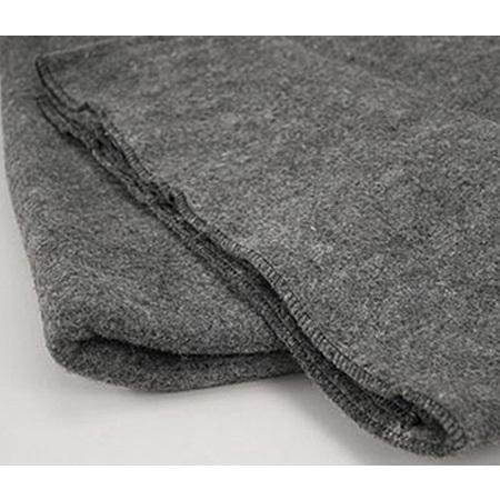 Warm Blanket, Grey, 60in x 80in, Wool