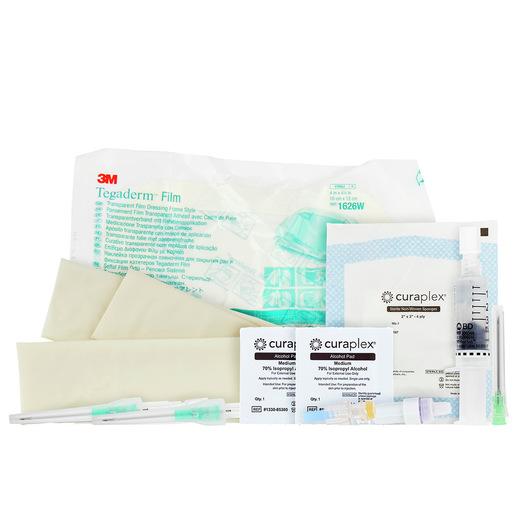 Curaplex® Advanced Tactical IV Starter Kit w/ Needle and Needleless Valve