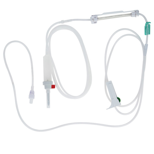 Infusomat® Space Pump IV Set, 60 Drop, 136in L, 25mL Priming Volume
