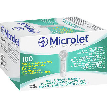 *Limited Quantity* Microlet® Adjustable Depth Lancet, Gray, 28ga x 0.02 to 0.08in D