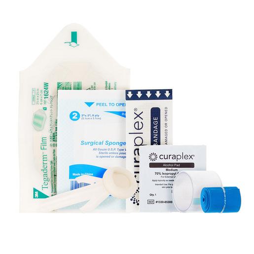 Curaplex® IV Start Kit w/ Tegaderm, Alcohol Pad