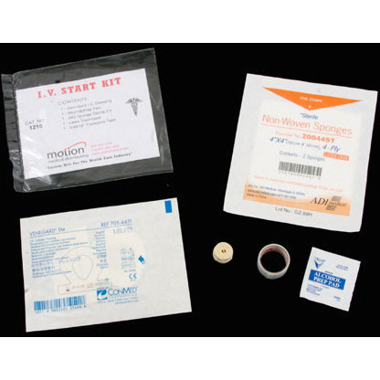 *Limited Quantity* Veni-Gard® IV Start Kit with Dressing *Non-Returnable and Non-Cancelable*