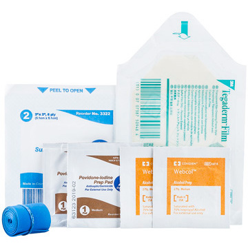 Latex-free IV Start Kit with Tegaderm