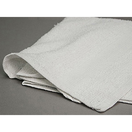 *Discontinued* Terry White Towel, 20in x 44in