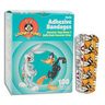 Looney Tunes™ Character Adhesive Bandage, 3/4in x 3in, Bugs Bunny and Daffy Duck