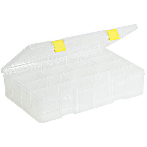 Compartment Box, Clear, F-Box/IV Box