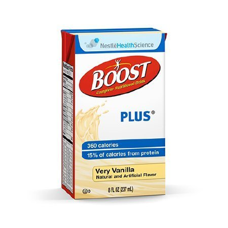 Oral Supplement Boost® Plus, Very Vanilla Flavor, Tetra Brik® Ready to Use, 8oz