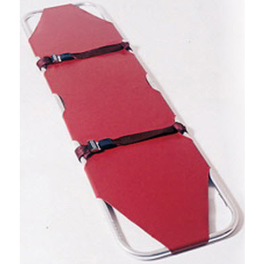 Model 12 Emergency Stretcher, 350lb, Burgundy