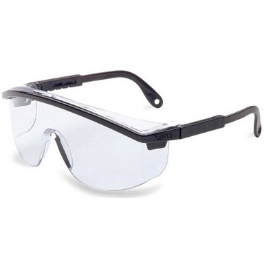 Uvex™ Astrospec 3000 Safety Glasses, Clear Lens, Black Frame *Non-Returnable and Non-Cancelable*