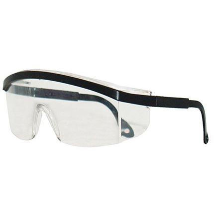 *Limited Quantity* Expo Safety Glasses, Clear Lens, Black Frame