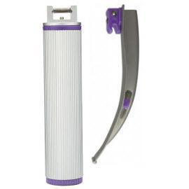 IntuBrite™ Laryngoscope Blades and Handles, Disposable, Dual LED, Mac