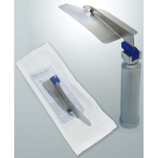 Grandview Disposable Laryngoscope Blade, Adult Size