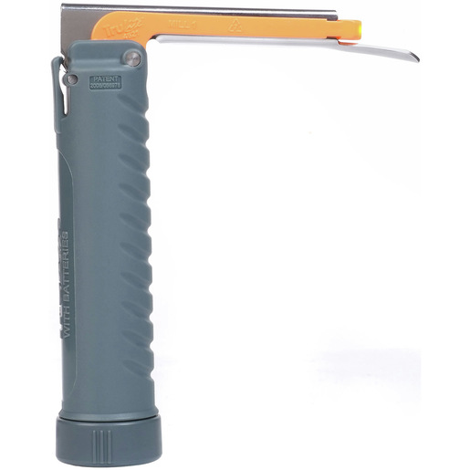 *Discontinued* TruLite Disposable LED Miller Laryngoscope Blade with Handle, Size 00