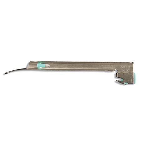 Rusch® EquipLite™ Disposable Standard Miller Laryngoscope Blade, Size 00, Beige