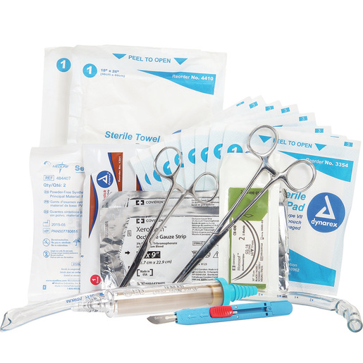 Curaplex® Deployable Chest Tube Kit