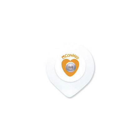 InstaTrace™ Foam Diaphoretic Wet Gel ECG Electrodes with Conductive Adhesive Gel, Adult, 30 Pouch