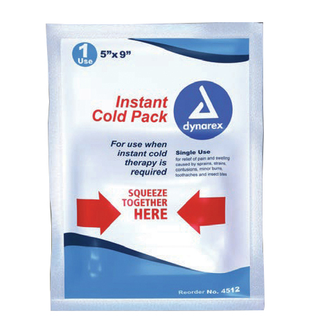 *Restricted Item* Instant Cold Pack, 5 x 9in
