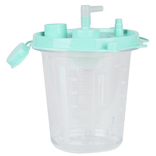 Curaplex® Disposable Hydrophobic Suction Canister, 1200cc