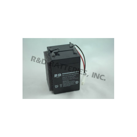 Replacement Battery, 2.8Ah, 12V