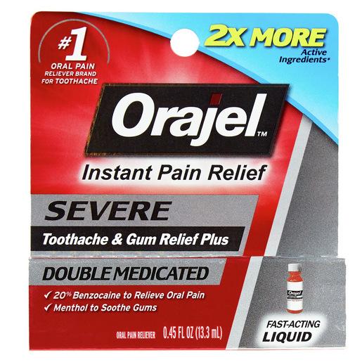 Orajel™ Toothache Pain Relief 20%, 0.45oz
