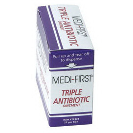Medi-First® Triple Antibiotic Ointment, 1/57g