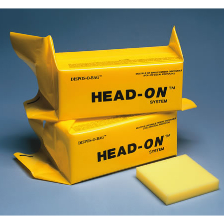 Head-On System Head Immobilizer, Foam Filled