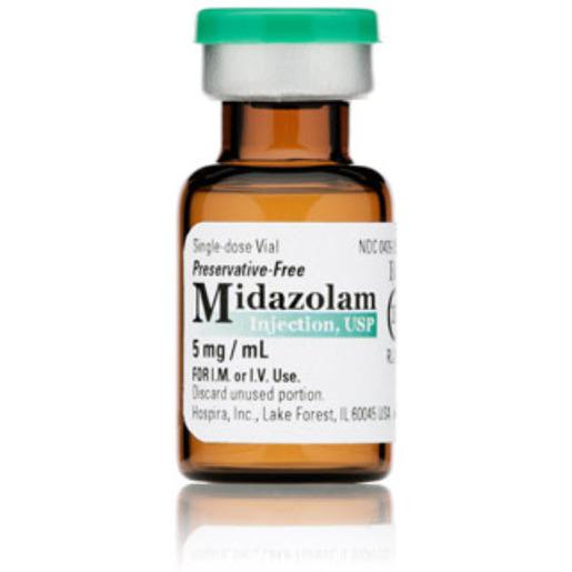 Midazolam, Class IV