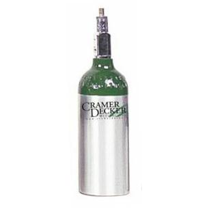 Medical Oxygen Cylinder, Aluminum, Size M4
