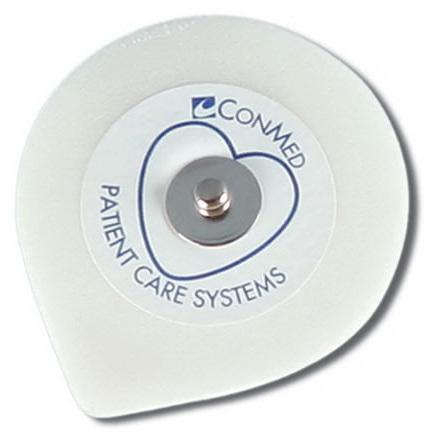 SureTrace® Foam ECG Electrodes w/ Conductive Adhesive Gel, Adult, 1 Pouch