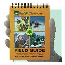 Wilderness Medical Associates Field Guide, 5in x 6in