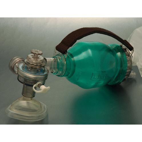 Med-Rescuer Disposable BVM Resuscitator with Universal Tubing, Infant