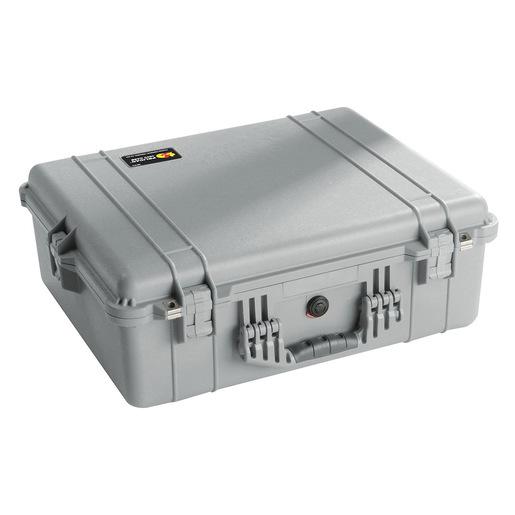 Pelican™ 1600 Protector Case™  No Foam, Silver