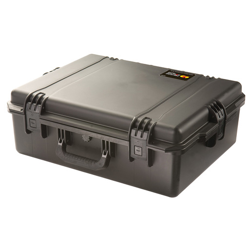 "Pelican™ iM2700 Storm Case, Black, No Foam 22"" × 17"" × 8"""