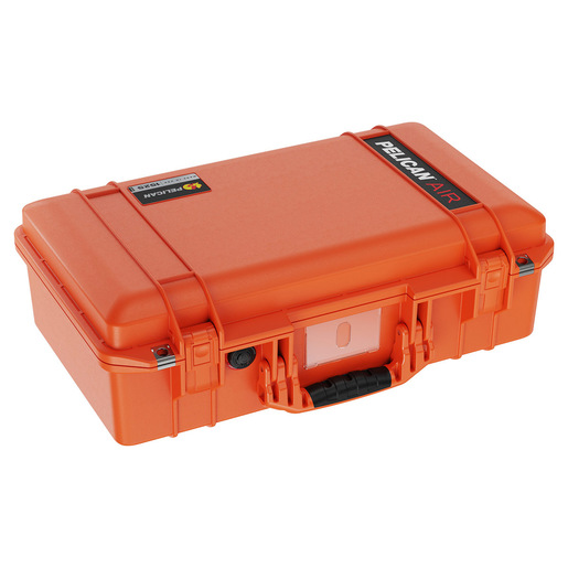 Pelican Air Case 1525, Orange, No Foam, 20.5 in × 11.3 in × 6.8 in