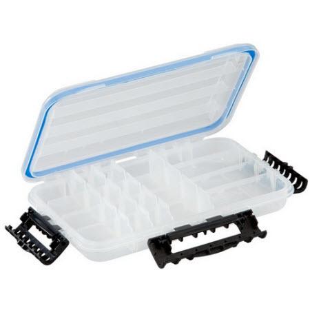 StowAway Waterproof Utility Box, 10.75in L x 7.25in W x 1.75in H, Model 3600, Clear