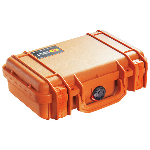 Pelican 1170 Protector Case™, Orange w/ Pick N Pluck Foam