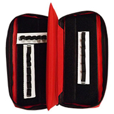 Insulated Drug Case, 3.25in x 8.5in x 2in, Red