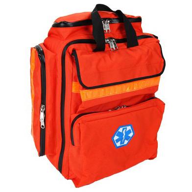 Mega Trauma Pack, Orange, Cordura® Nylon, Pocketed