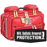 OMNI™ PRO BLS/ALS Total System Bag with M4L Armored Ballistic Protection, Red