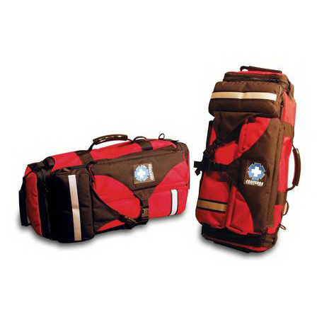 Flightline Ultra Aero-Medical Pack, 1840cu in, Red, Cordura & Ballistics Nylon