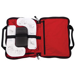 Supply King Vision Video Laryngoscope Bag, Red