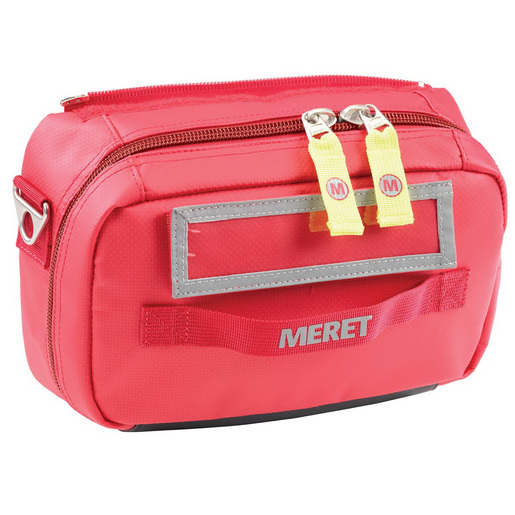 *Discontinued* Airway Pro Intubation Tri-Fold Module Bag, 6.25in x 10.25in x 3.75in, Red, Infection Control, Denier Coated TPE