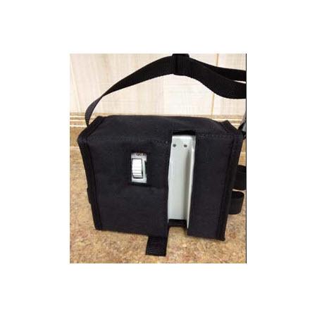 Pole Mount Carry Case, Black Padded Nylon