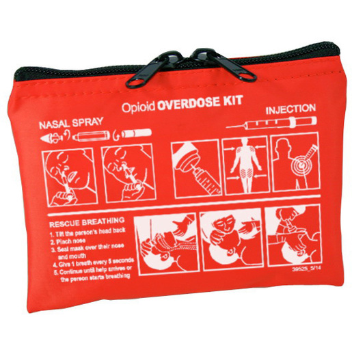Community Outreach Opioid Overdose Kit Case, Orange